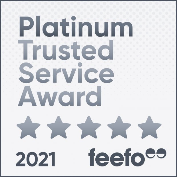 Fairway Furniture awarded Feefo 'Gold Trusted Service Award 2018'